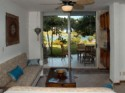 Family Friendly Two Story Townouse:  2-Bedroom: Sleeps 6: Yal Ku Lagoon: Akumal, Mexico - Living Room, Patio, and Lagoon